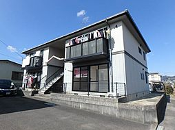 愛媛県伊予郡砥部町北川毛の賃貸アパートの外観