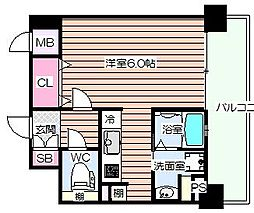 ジュネーゼ野田エコール[5階]の間取り