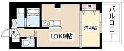 KOKORO. 3階1LDKの間取り