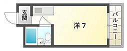 大宝門真CTスクエアーII[4階]の間取り