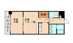 メディオ21[5階]の間取り
