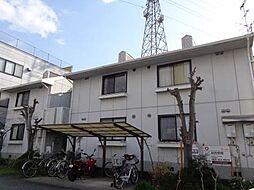 愛媛県松山市余戸東2丁目の賃貸アパートの外観