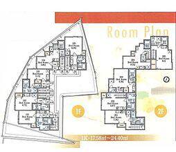 レベアス西台[1階]の間取り