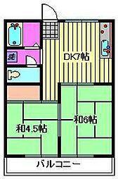進藤ビル[4階]の間取り