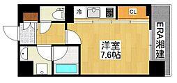 ハウス西横浜[403号室]の間取り