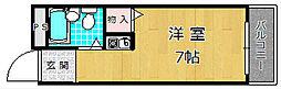 ハイコーポ京阪[5階]の間取り