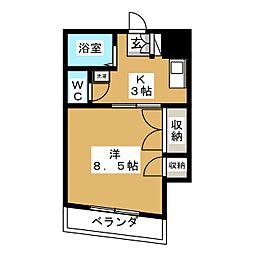 ファーストハイツ二軒茶屋[3階]の間取り