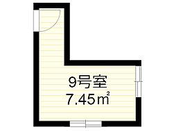 エアリーハウス百合丘[9号室]の間取り