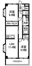 K&Aパレス[2階]の間取り