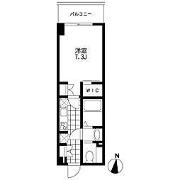 プライマル錦糸町(旧リビオメゾン錦糸町)[0609号室]の間取り