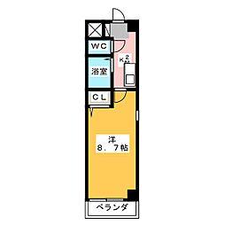 エクセル長池[3階]の間取り
