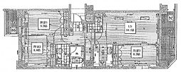 リーガル四ツ橋立売堀II[13階]の間取り