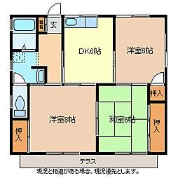 [一戸建] 長野県長野市大字北堀 の賃貸【/】の間取り
