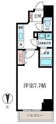 FRERE COURT錦糸公園[7階]の間取り
