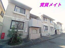 三重県四日市市茂福町の賃貸アパートの外観
