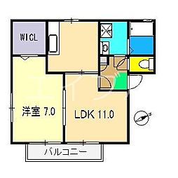 メゾン・ドールIII[2階]の間取り