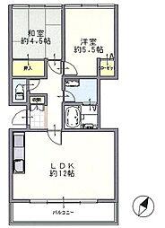 牡鹿台ハイツ13号棟3階