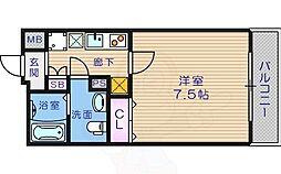 北田辺駅 5.3万円