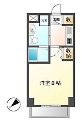 エステムプラザ名古屋栄プレミアム[12階]の間取り