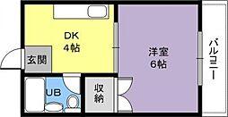 中野パーソナルマンション[3階]の間取り