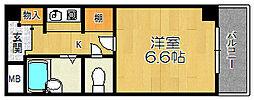 コウヨウ姫里[4階]の間取り