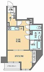 GRAN PASEO本郷三丁目(グランパセオ本郷三丁目) 3階1LDKの間取り