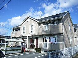 クレストール上野田B[1階]の外観