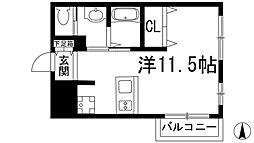 M`STYLE川西[3階]の間取り
