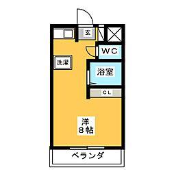 World Wing[3階]の間取り