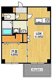 GLC平尾[11階]の間取り