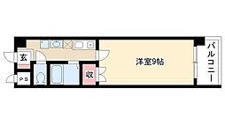 愛知県尾張旭市印場元町2丁目の賃貸マンションの間取り
