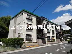 岡山県岡山市中区湊丁目なしの賃貸アパートの外観