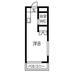 パークアベニュー小平2nd[301号室]の間取り