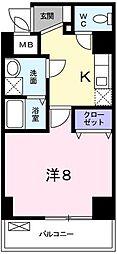 ラ・フォルテ新大阪[0301号室]の間取り