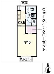 セゾン[1階]の間取り