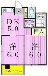 江川ビル[301号室]の間取り