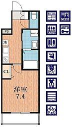 アッシュメゾン寺田[2階]の間取り