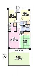ライフプラザ熊谷 中古マンション 専用庭