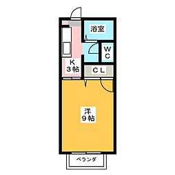 シルキーM[1階]の間取り