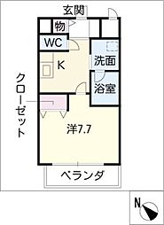 koshidoFLAT[2階]の間取り