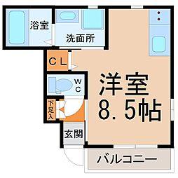 ルミ・ハウス[1階]の間取り