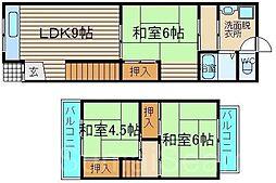 [一戸建] 大阪府堺市東区白鷺町1丁 の賃貸【/】の間取り