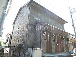 東京都青梅市千ヶ瀬町4丁目の賃貸アパートの外観