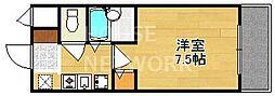 グランソフィア[A211号室号室]の間取り