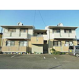 静岡県藤枝市高柳の賃貸アパートの外観