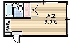 スタジオ32[207号室]の間取り
