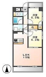 クレアートノムラ[3階]の間取り