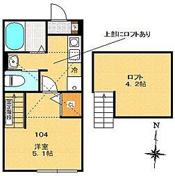 サンマルク大塚[1階]の間取り