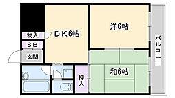 アケディア21[203号室]の間取り