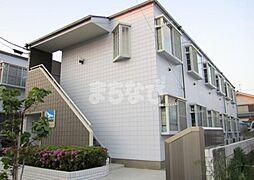 東京都江戸川区西篠崎1丁目の賃貸アパートの外観